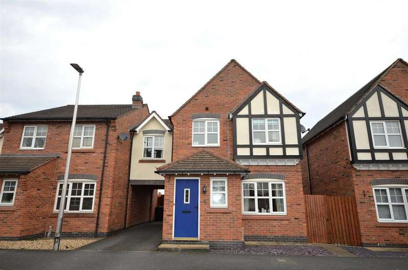 3 Bedrooms Link Detached House for sale in Sunnymill Drive, Sandbach