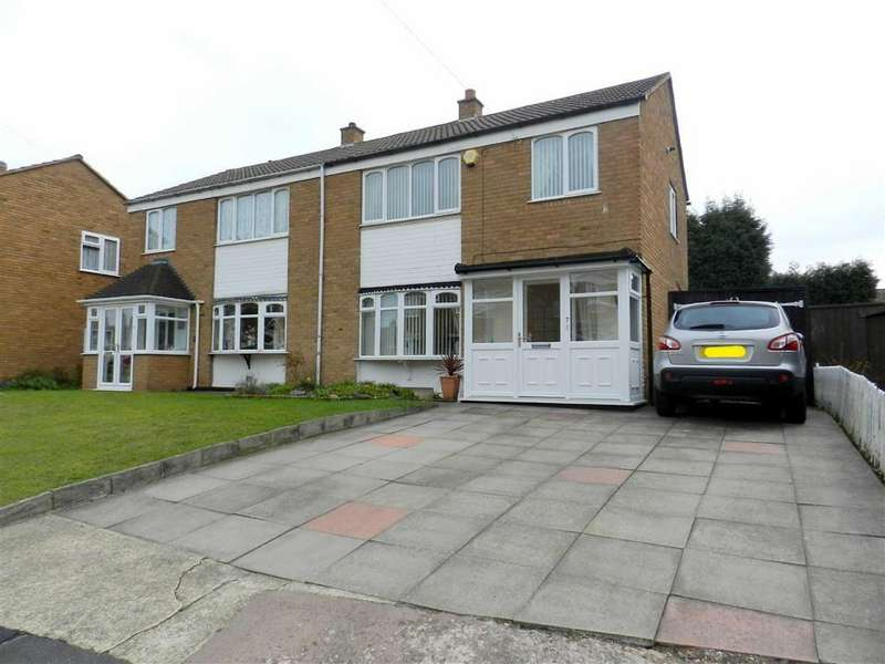 3 Bedrooms Semi Detached House for sale in Martley Road, Walsall, Walsall