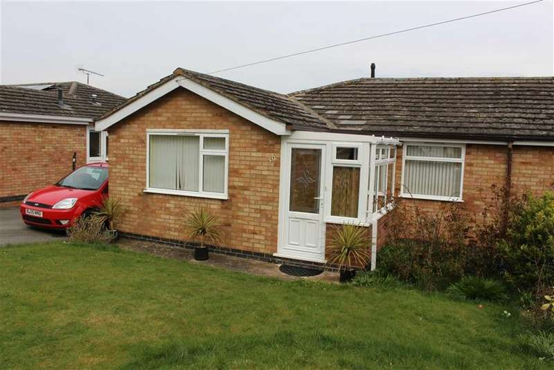 2 Bedrooms Semi Detached Bungalow for sale in Holt Avenue, Bishops Tachbrook, CV33