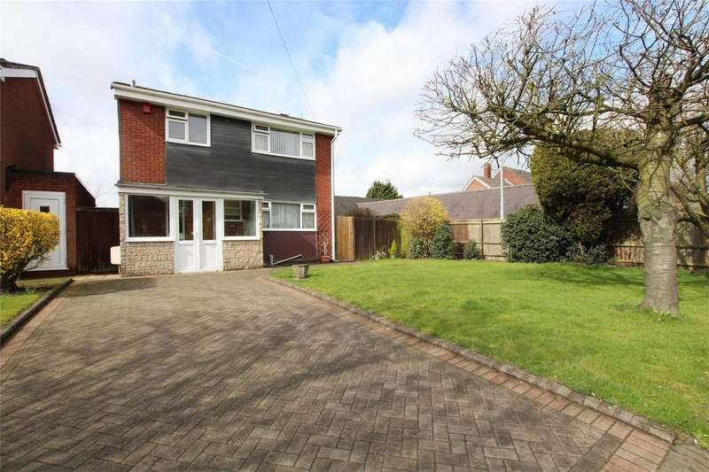 3 Bedrooms Detached House for sale in Upper St John Street, Lichfield, Staffordshire