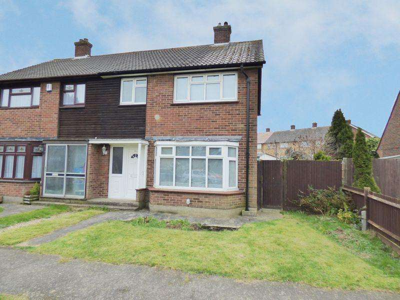 3 Bedrooms Semi Detached House for sale in Oliver Road, Swanley