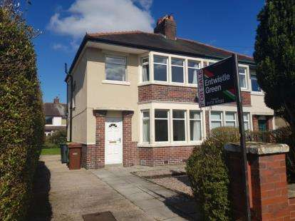 3 Bedrooms Semi Detached House for sale in Cadley Causeway, Fulwood, Preston, Lancashire, PR2