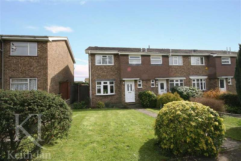 3 Bedrooms End Of Terrace House for sale in Perram Close, Turnford