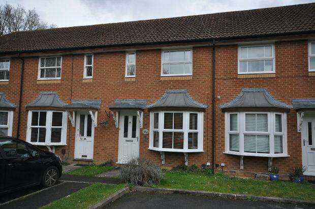 2 Bedrooms Terraced House for sale in Mannock Way, Woodley, Reading,