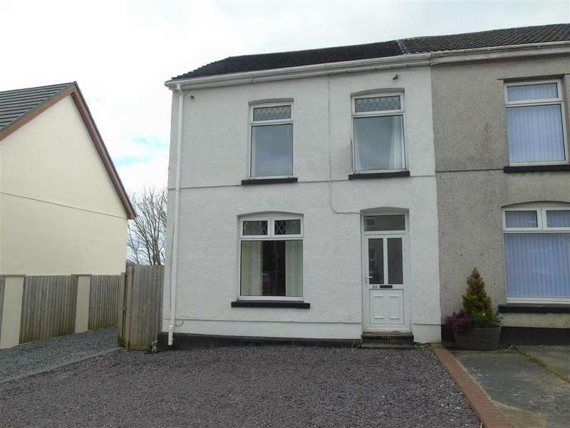 2 Bedrooms Semi Detached House for sale in Penygraig Road, Llwynhendy, Llanelli