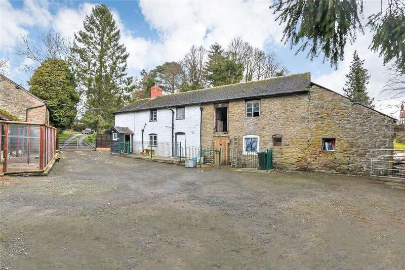 3 Bedrooms Equestrian Facility Character Property for sale in Lydham, Bishops Castle, Shropshire