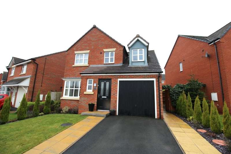 3 Bedrooms Detached House for sale in Essington Way, Brindley Village, Stoke-On-Trent, ST6