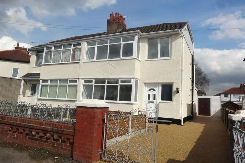 3 Bedrooms Semi Detached House for sale in Victoria Park Drive, Lea, Preston, PR2