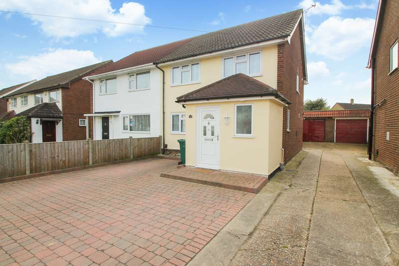 3 Bedrooms Semi Detached House for sale in Hannibal Road, Stanwell, TW19