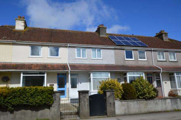 3 Bedrooms Semi Detached House for sale in South View, Liskeard, Cornwall