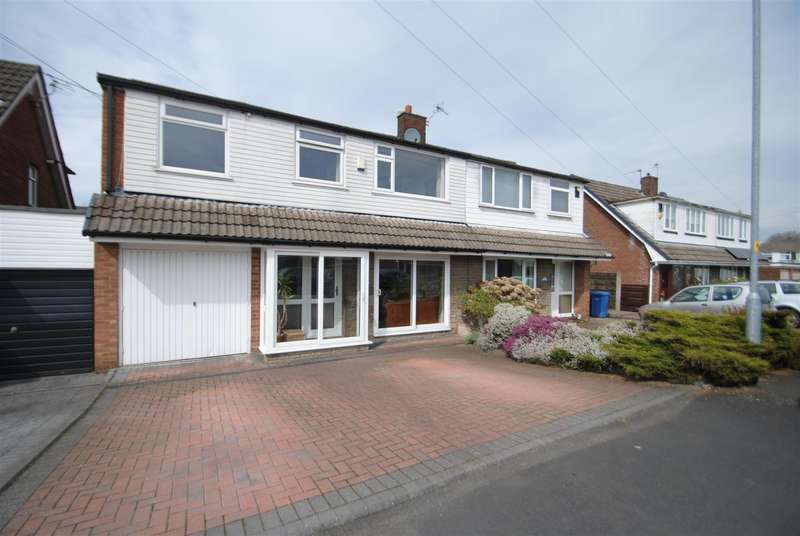 4 Bedrooms Semi Detached House for sale in Parkland Close, APPLETON THORN, Warrington, WA4