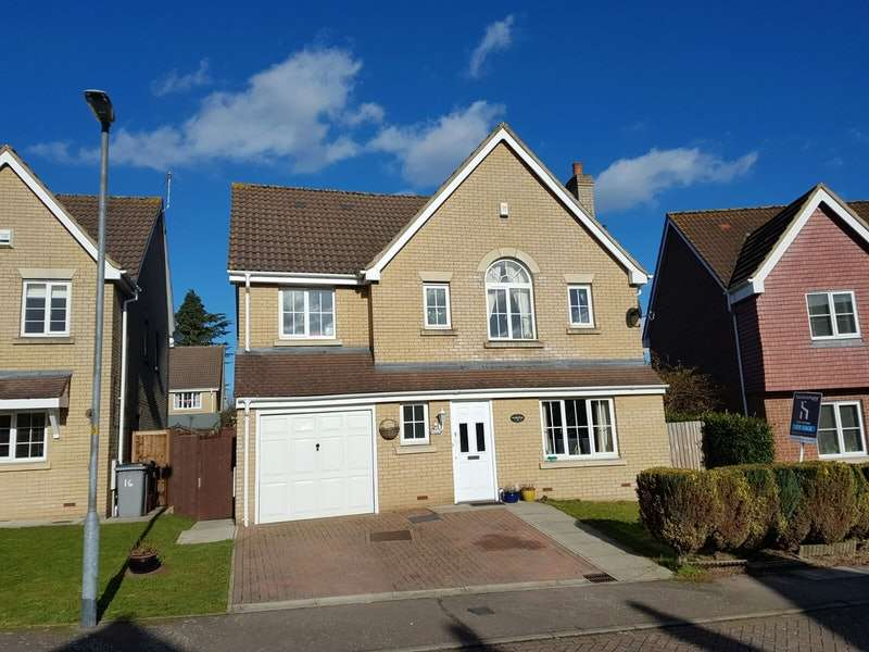 5 Bedrooms Detached House for sale in Tates Way, Stevenage, Hertfordshire, SG1