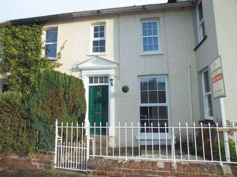 2 Bedrooms Terraced House for sale in 64 Merthyr Road, Abergavenny, NP7 5BY