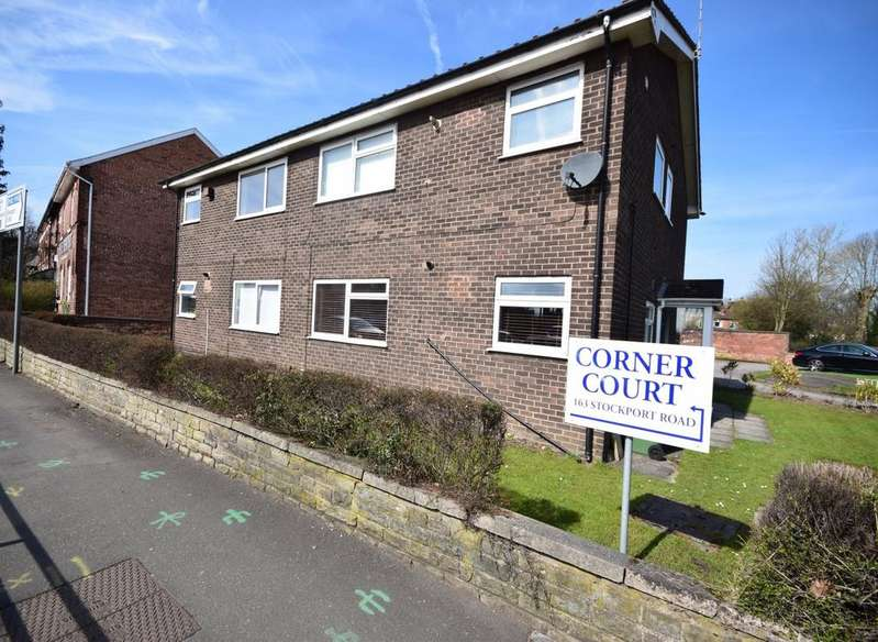 2 Bedrooms Apartment Flat for sale in Corner Court, Stockport Road, Cheadle