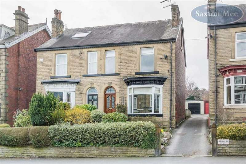 4 Bedrooms Semi Detached House for sale in Marlcliffe Road, Wadsley, Sheffield, S6