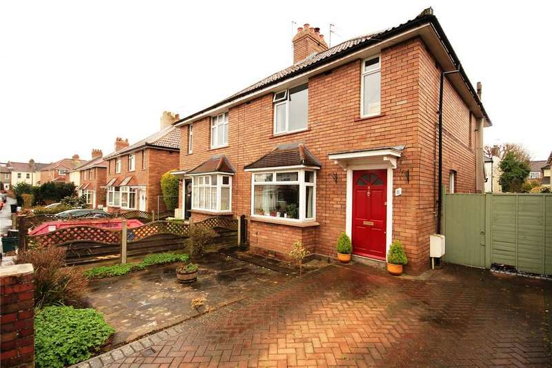 3 Bedrooms Semi Detached House for sale in Kimberley Crescent, Fishponds, Bristol, BS16