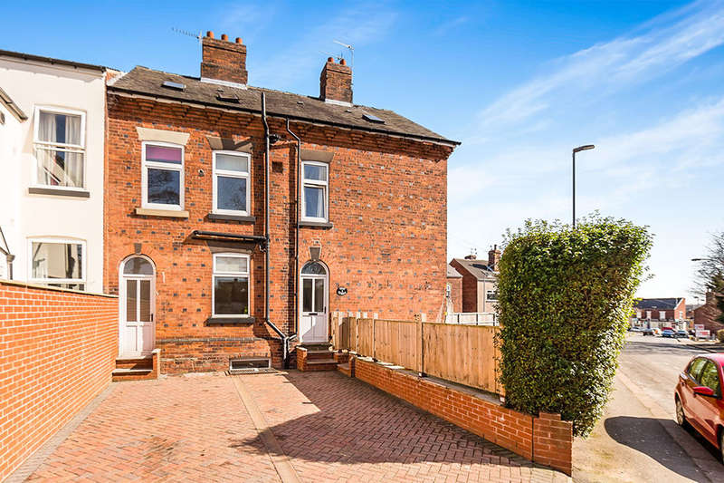 4 Bedrooms Semi Detached House for sale in West Street, Chesterfield, S40