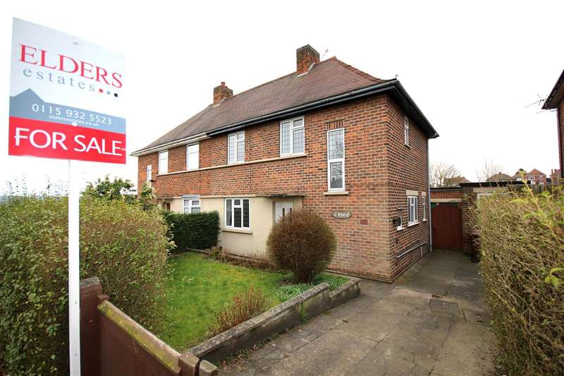 3 Bedrooms Semi Detached House for sale in Beauvale Drive, Ilkeston