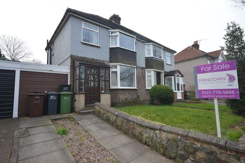 3 Bedrooms Semi Detached House for sale in Chelmsley Lane, Birmingham