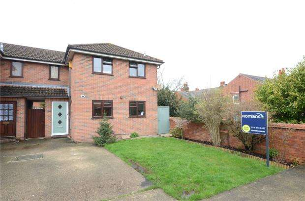 3 Bedrooms End Of Terrace House for sale in Thrale Mews, Grovelands Road, Reading