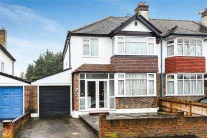 3 Bedrooms Semi Detached House for sale in Oak Avenue, Croydon