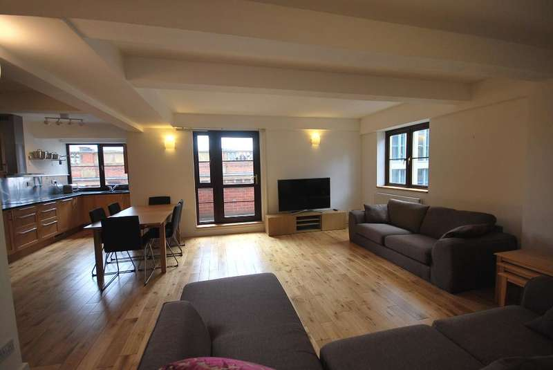 2 Bedrooms Penthouse Flat for rent in Dickinson Street, Manchester, M1 4LX
