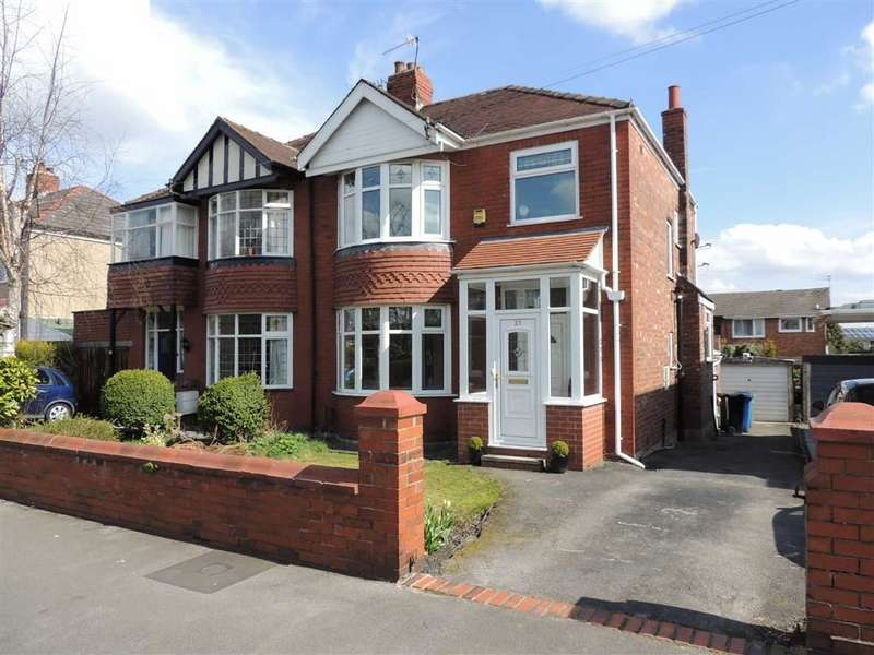 3 Bedrooms Semi Detached House for sale in Hollymount Road, Offerton, Stockport