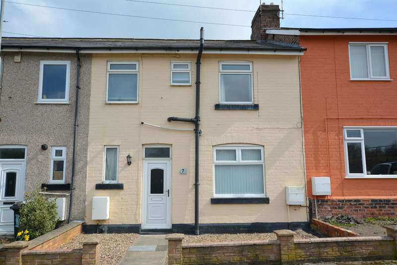 4 Bedrooms Terraced House for sale in Traffic Terrace, Storforth Lane, Hasland, Chesterfield, S41 0RE