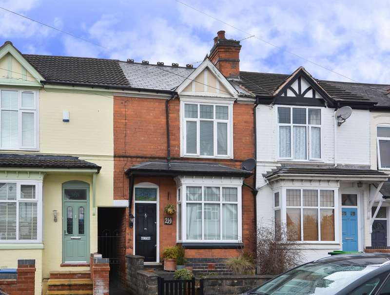 4 Bedrooms Terraced House for sale in Park Road, Bearwood, B67