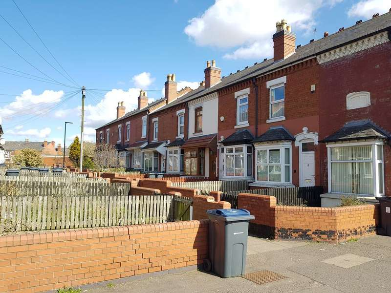 2 Bedrooms Terraced House for sale in Hagley Villas, Taunton Road, Balsall Heath, Birmingham B12
