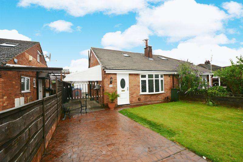 3 Bedrooms Semi Detached Bungalow for sale in Oakdale Drive, Heald Green, Cheadle