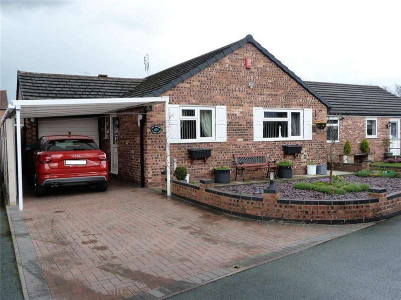 2 Bedrooms Detached Bungalow for sale in Stamp Close, Crewe, Cheshire, CW1