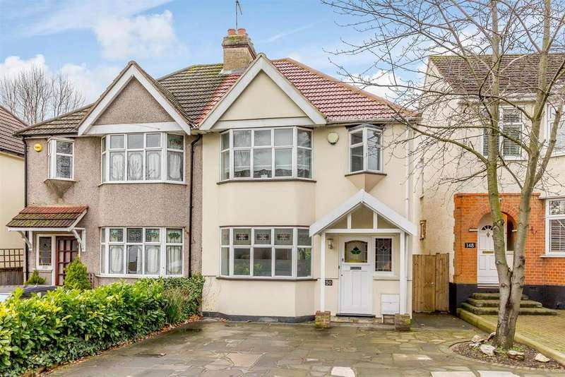 3 Bedrooms Semi Detached House for sale in Slewins Lane, Hornchurch