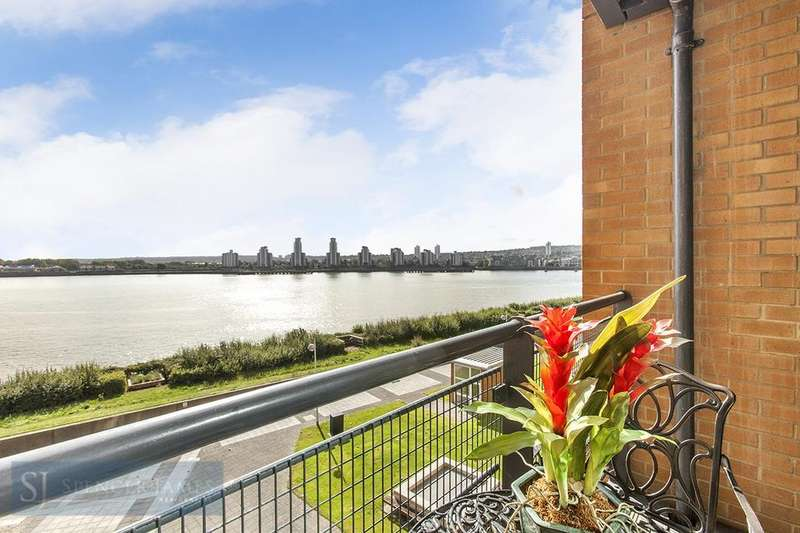 2 Bedrooms Apartment Flat for sale in Sunderland Point, Hull Place, E16