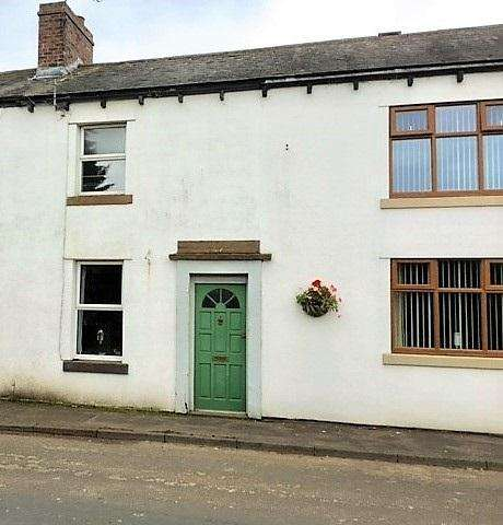 2 Bedrooms Terraced House for sale in 6 Glen Terrace, Heads Nook, Carlisle CA8 9AB