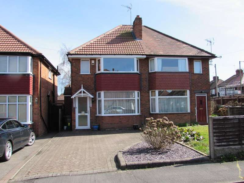 3 Bedrooms Semi Detached House for sale in Orchard Avenue, Solihull