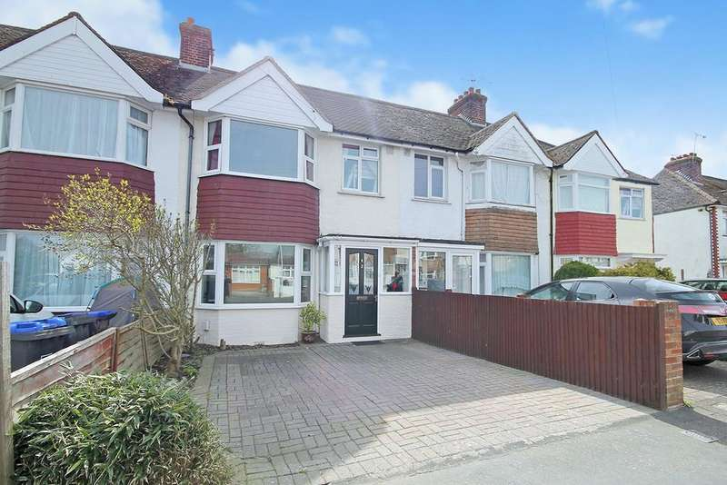3 Bedrooms Terraced House for sale in Clarendon Road, Worthing, West Sussex BN13 8QJ