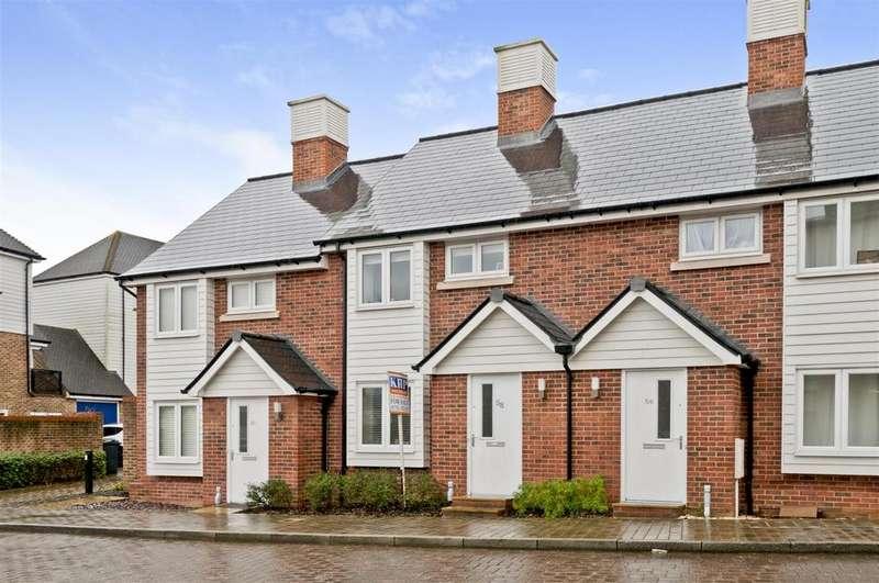 2 Bedrooms Terraced House for sale in Queen Street, Kings Hill, ME19 4JP