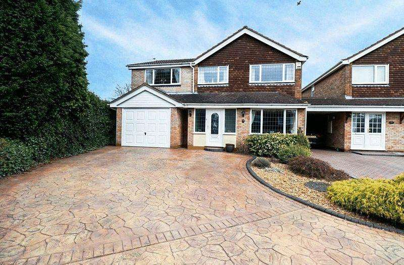 5 Bedrooms Detached House for sale in Larkswood Drive, SEDGLEY, DY3 3UQ
