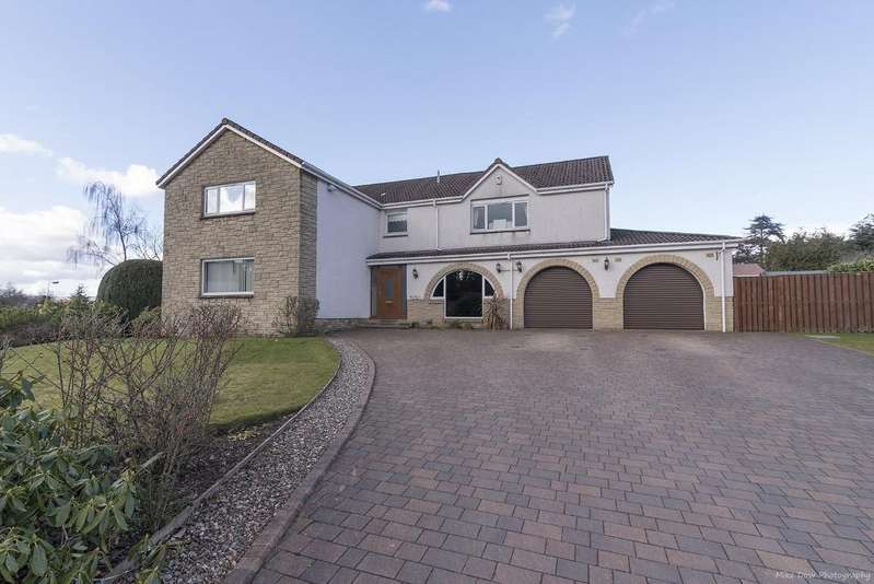5 Bedrooms Detached House for sale in Alexander Drive, Stirling, Scotland, FK9 4QB