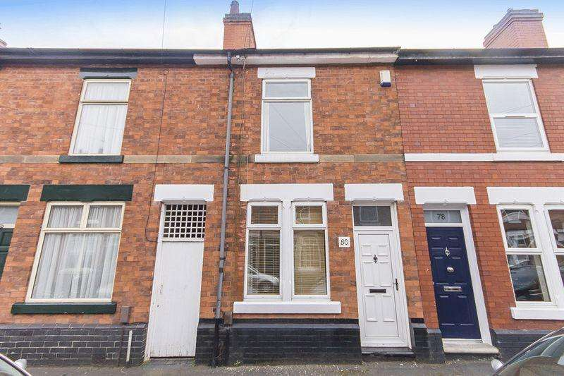 2 Bedrooms Terraced House for sale in Sherwin Street, Derby