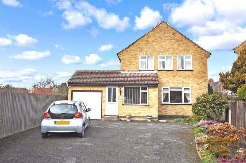 3 Bedrooms Detached House for sale in Gartree Drive, Melton Mowbray, Leicestershire