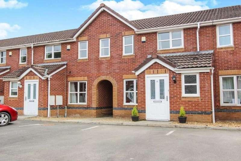 3 Bedrooms Terraced House for sale in Chepstow Gardens, Garstang, Preston, PR3