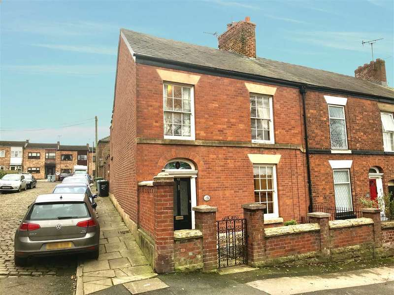 3 Bedrooms End Of Terrace House for sale in Church View, 43 Brook Street, Macclesfield