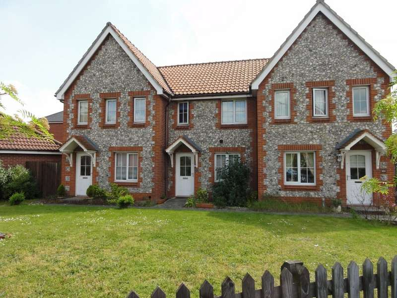 2 Bedrooms Terraced House for sale in Mallow Road, Thetford IP24