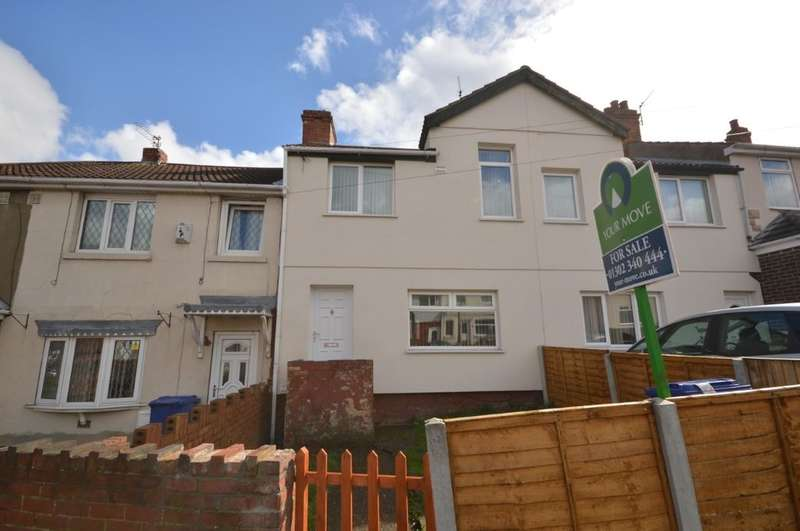 2 Bedrooms Property for sale in St. Johns Road, Edlington, Doncaster, DN12