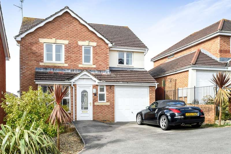 4 Bedrooms Detached House for sale in Heol Leubren, Barry