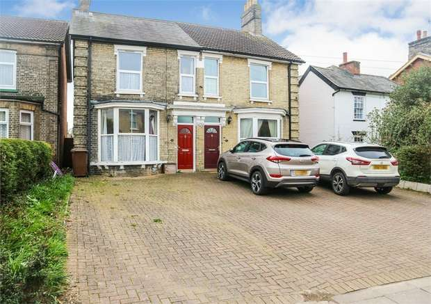 3 Bedrooms Semi Detached House for sale in London Road, Ipswich, Suffolk