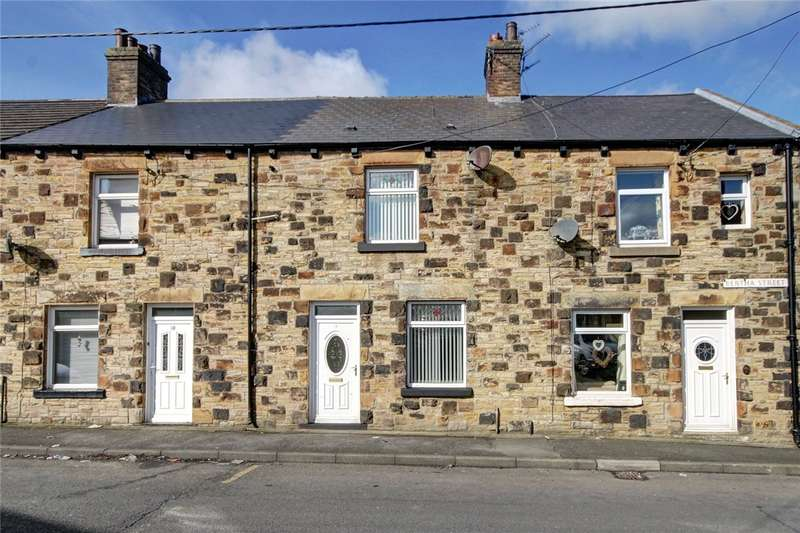 2 Bedrooms Terraced House for sale in Bertha Street, Consett, DH8