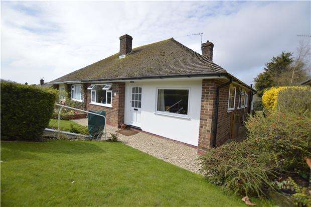 2 Bedrooms Semi Detached Bungalow for sale in Park Avenue, HASTINGS, East Sussex, TN34 2PG
